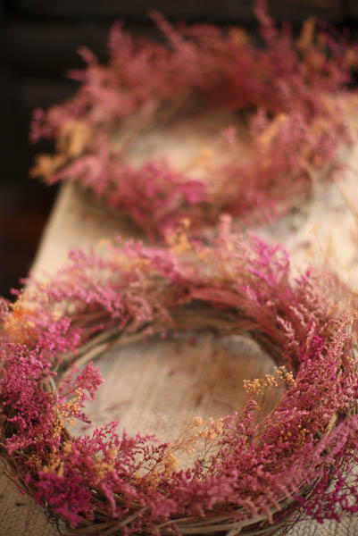 Dried Caspia Wreath | The Prettiest Fall Wreaths Made From Dried Flowers